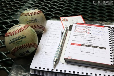 Stamped in, lineups down, and two batting practice balls!