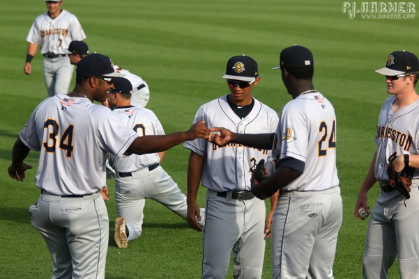 The secret handshake.