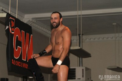 Collin Delaney was a 2CW mainstay.