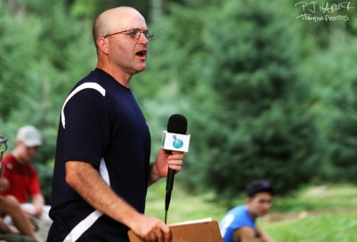 Steve Dodge, as shown here at the 2011 Vibram Open, is a visionary in the sport of disc golf and has made a big stand in hoping to help the game.