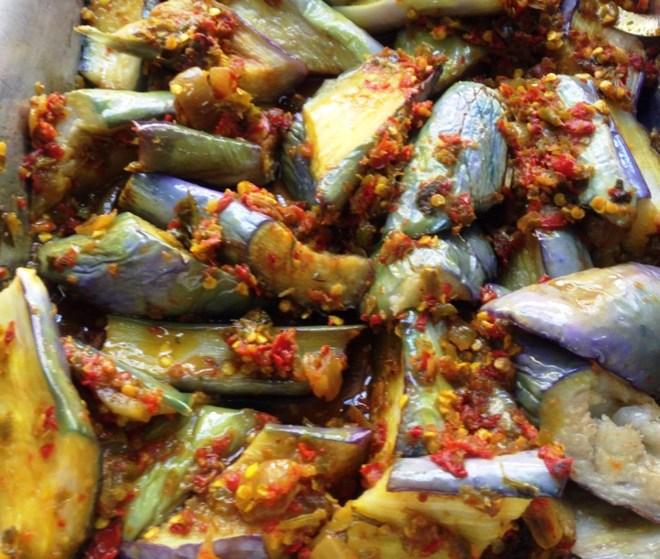 Love this Sambal Terong at the restaurant