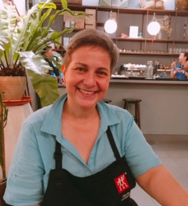 Chef and co-owner Su, a true blue Macanese