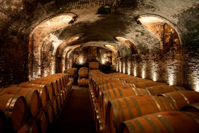 The cellar within the 2,000-year-old Roman walls