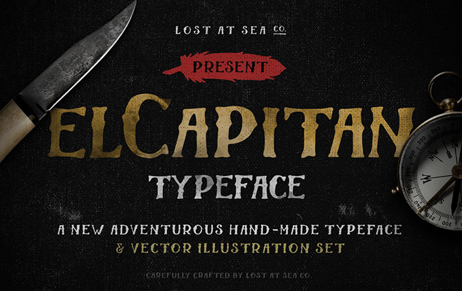 54 Free Modern Fonts  The Ultimate List for Graphic Design   Hook Agency El Capitan     modern fonts 2015   the best top font of the year