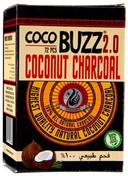 炭のレビュー / Coco Buzz 2.0 Coconut Charcoal
