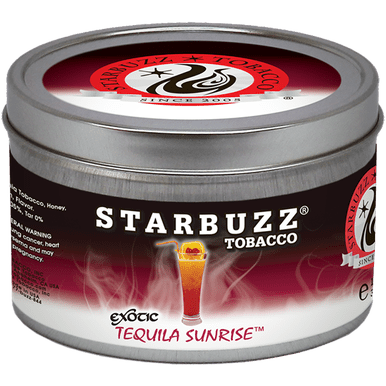 StarBuzz / Tequila Sunrise(ビターでキリッとしたシトラス系)