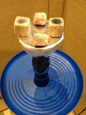 Vortex Hookah Bowl 火の調節