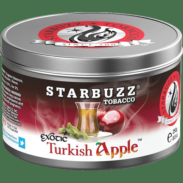 StarBuzz / Turkish Apple(赤リンゴっぽい香りに、Double Apple系に特有のキレ感)