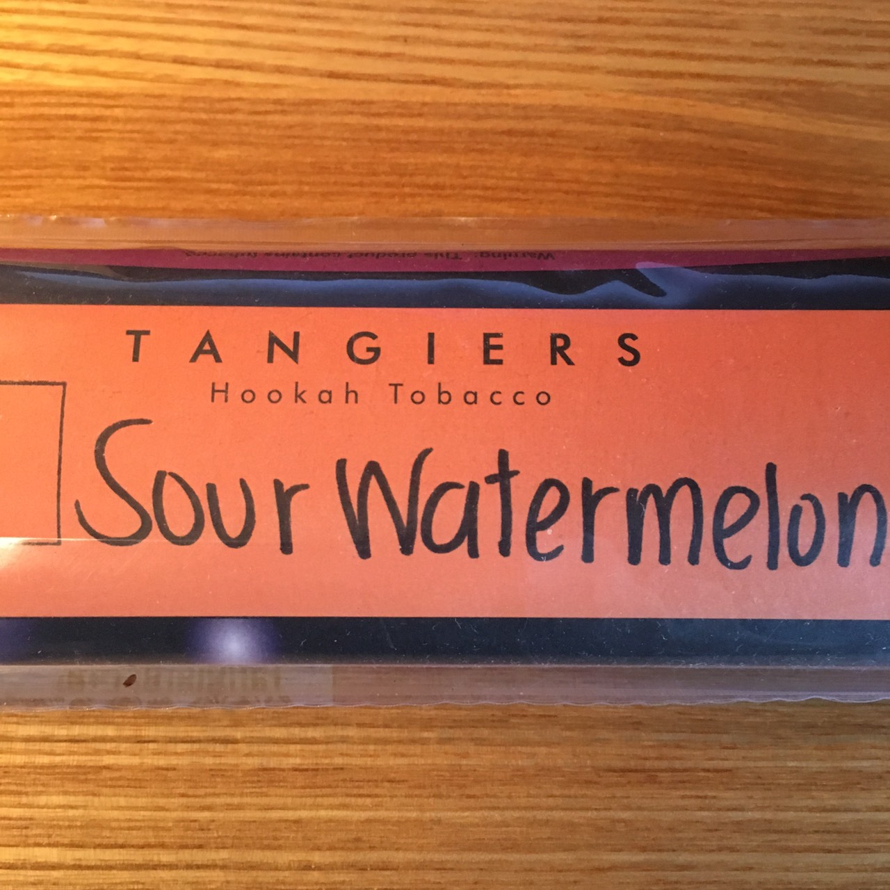 Tangiers Noir / Sour Watermelon(マッタリした甘さのスイカの香りと、少々の酸味)
