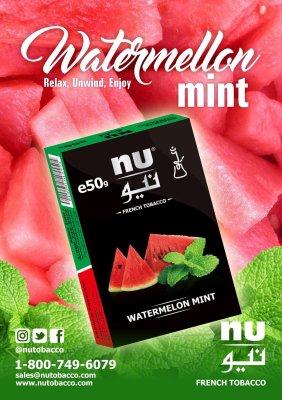 Nu Hookah / Watermelon Mint(良い意味でスカスカした甘さのクラシックなWatermelon系、清涼感は控えめ)