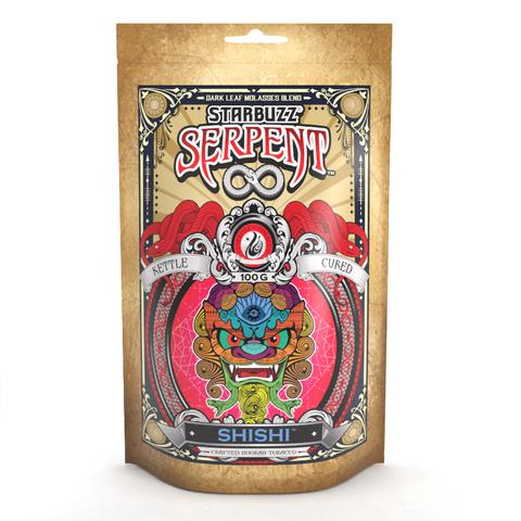 StarBuzz Serpent / Shishi(Chocolate系とRose系の香り=3:2ぐらいのMix)