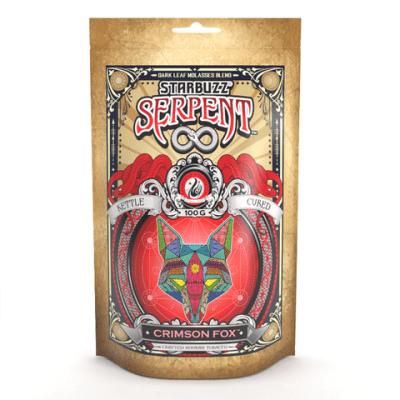 StarBuzz Serpent / Crimson Fox(煙を吐き終えるときにスッとしたテイストがある、アメリカの会社っぽいPeach系)