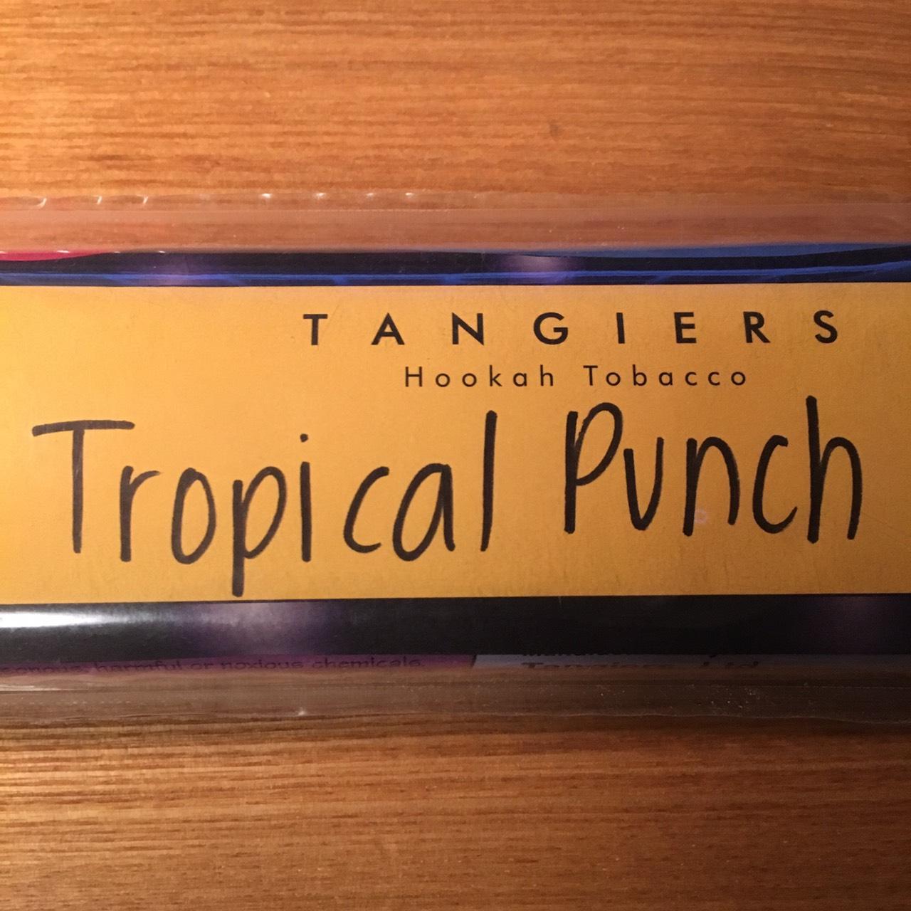 Tangiers Noir / Tropical Punch(やや酸味のあるケミカルなCherry系がメイン)