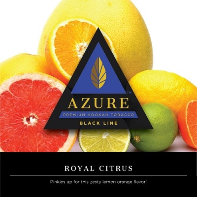 Azure Black / Royal Citrus(Lemon系:Grapefruit系=6:4ぐらいのMix)