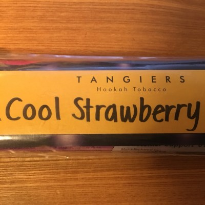Tangiers Noir / Cool Strawberry(ケミカルなCherry系に特有のツンとした感じが微かにあるサッパリめのStrawberry系)