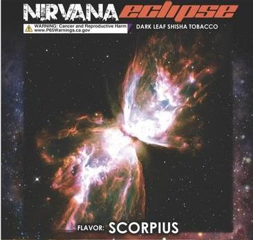 Nirvana Eclipse / Scorpius(紙パックのバナナオレのような香りに、バナナのスジのような渋みが少々)