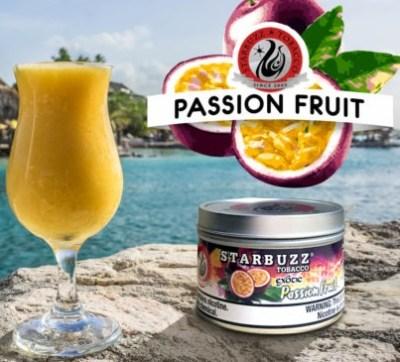 StarBuzz / Passion Fruit(パッションフルーツのピューレのような香り、なかなかの再現度)
