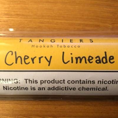 Tangiers Noir / Cherry Limeade(Cherry系:Lime系=1:1ぐらいのMix、ドクターペッパーが好きな人に良さそう)