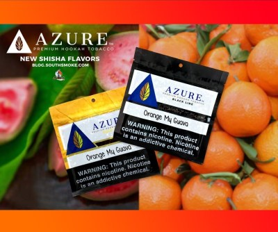 Azure Black / Orange My Guava(マッタリした甘さが強めのOrange系と、青臭さが控えめなGuava系のMix)