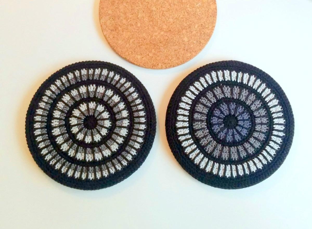 Mandala Trivet Cover