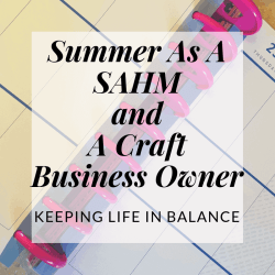 summer stay at home mom and craft business owner | Hooked by Kati