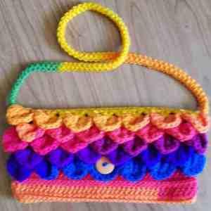 Romanian cord crochet video tutorial