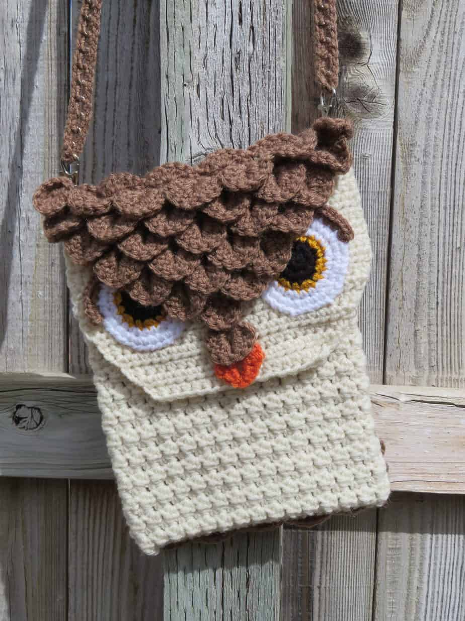 Owl Cross Body Bagpurse Crochet Pattern Printable Pdf Hooked By
