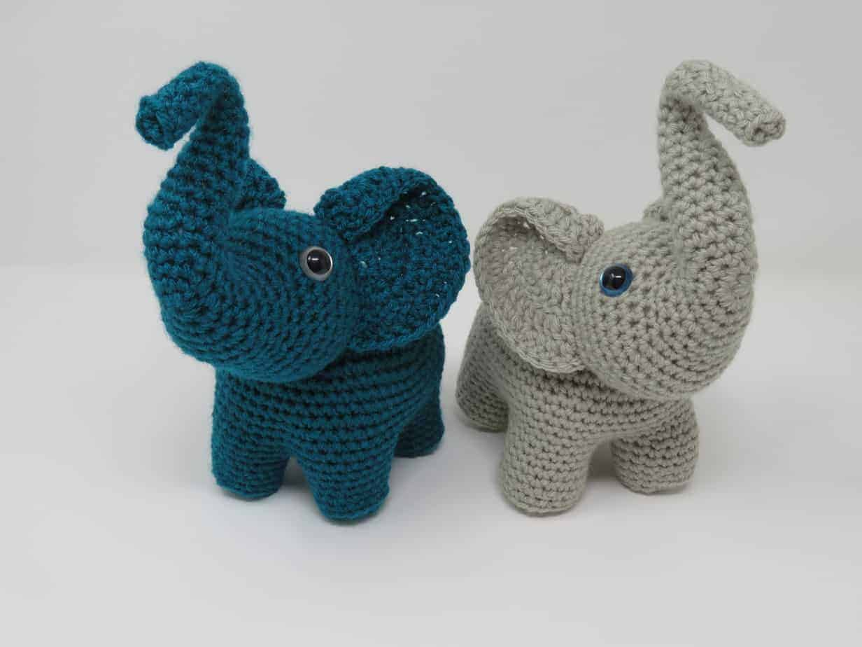 A Score of Free Crochet Elephant Patterns • Oombawka Design Crochet | 3888x5184