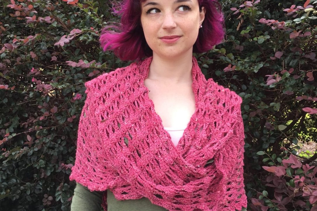 The Sensible Shawl pattern by Mary Beth Temple. Available on Ravelry for $6.00.