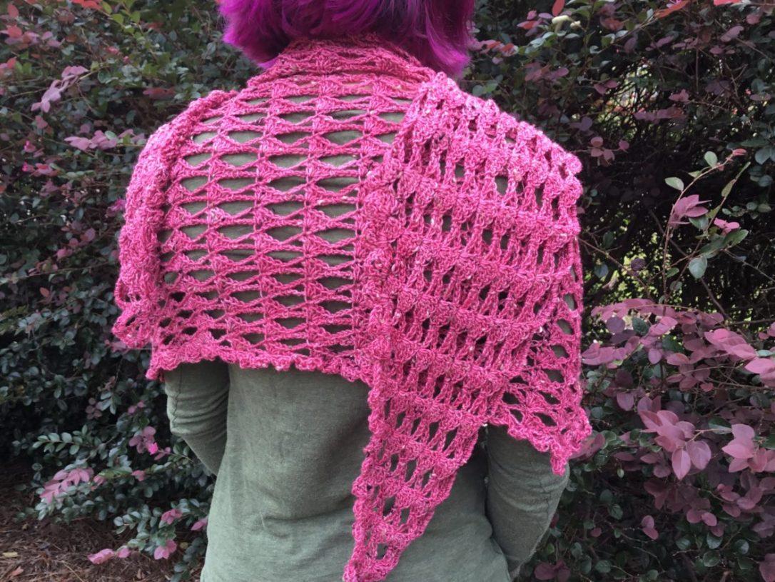 Sensible Shawl crochet pattern, $6 on Ravelry