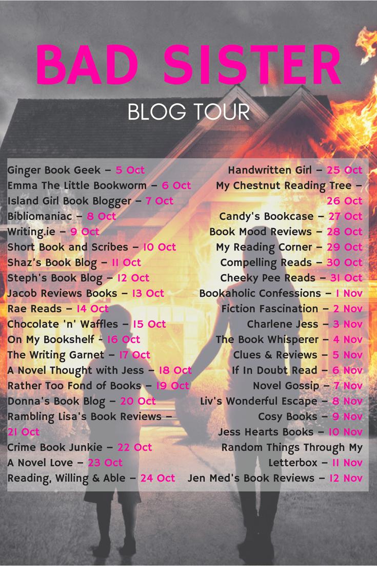 BAD SISTER blog tour