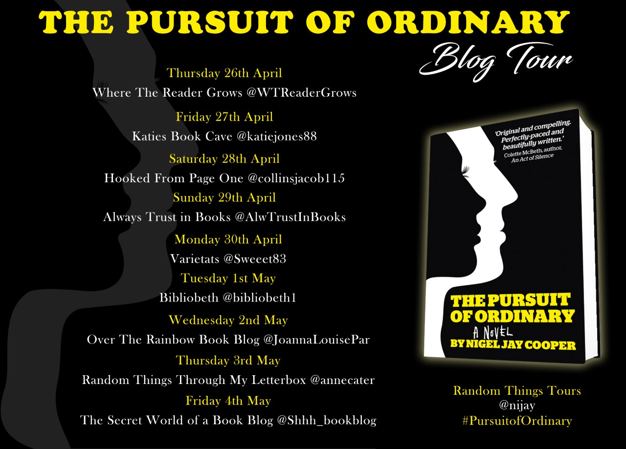 Pursuit of Ordinary Blog Tour Poster