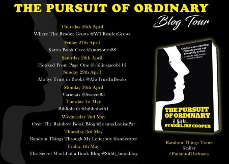 Pursuit of Ordinary Blog Tour Poster