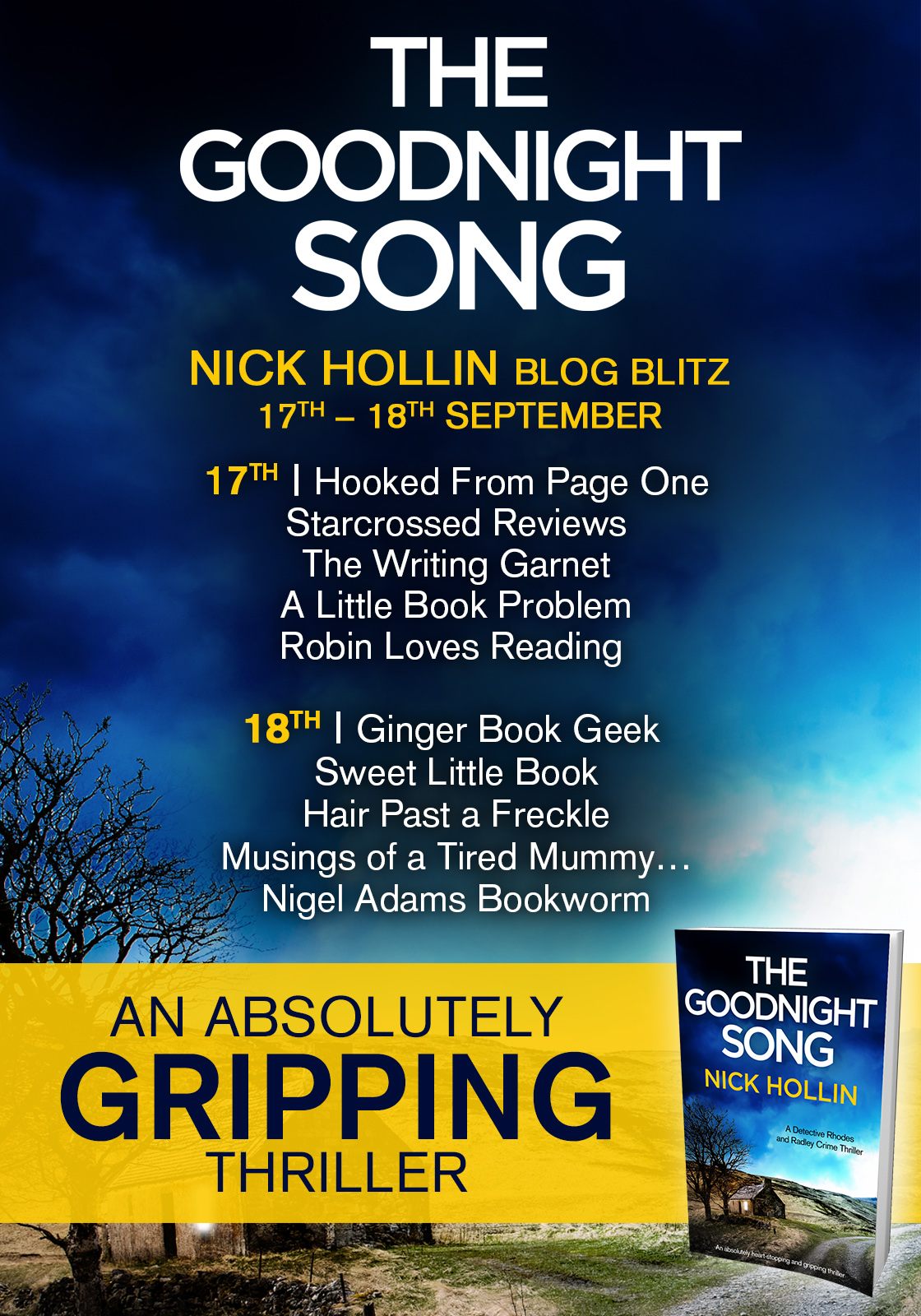 The Goodnight Song - Blog Tour