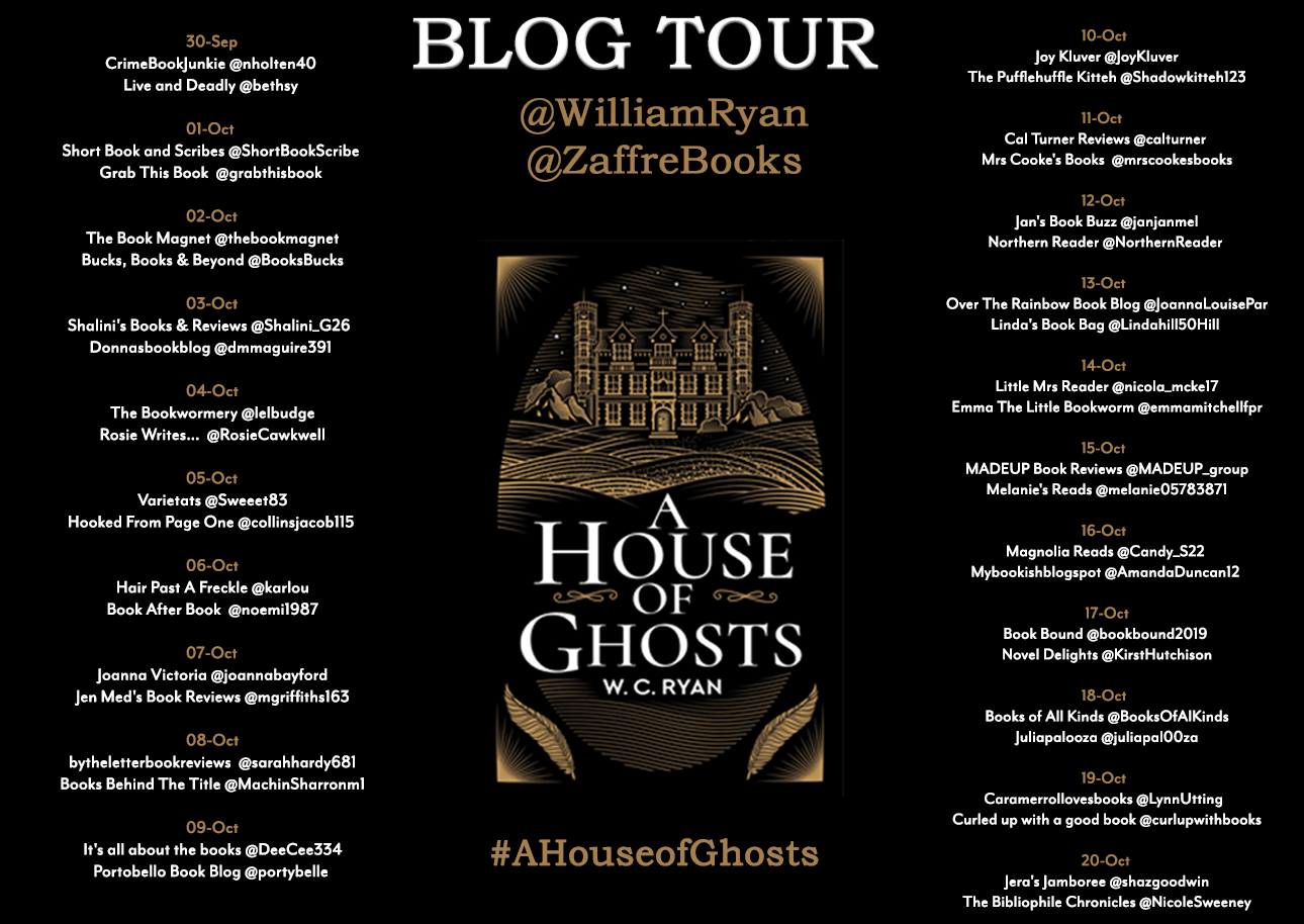 William Ryan Blogtour