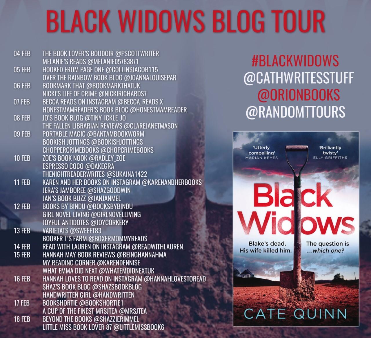 Black Widows BT Poster
