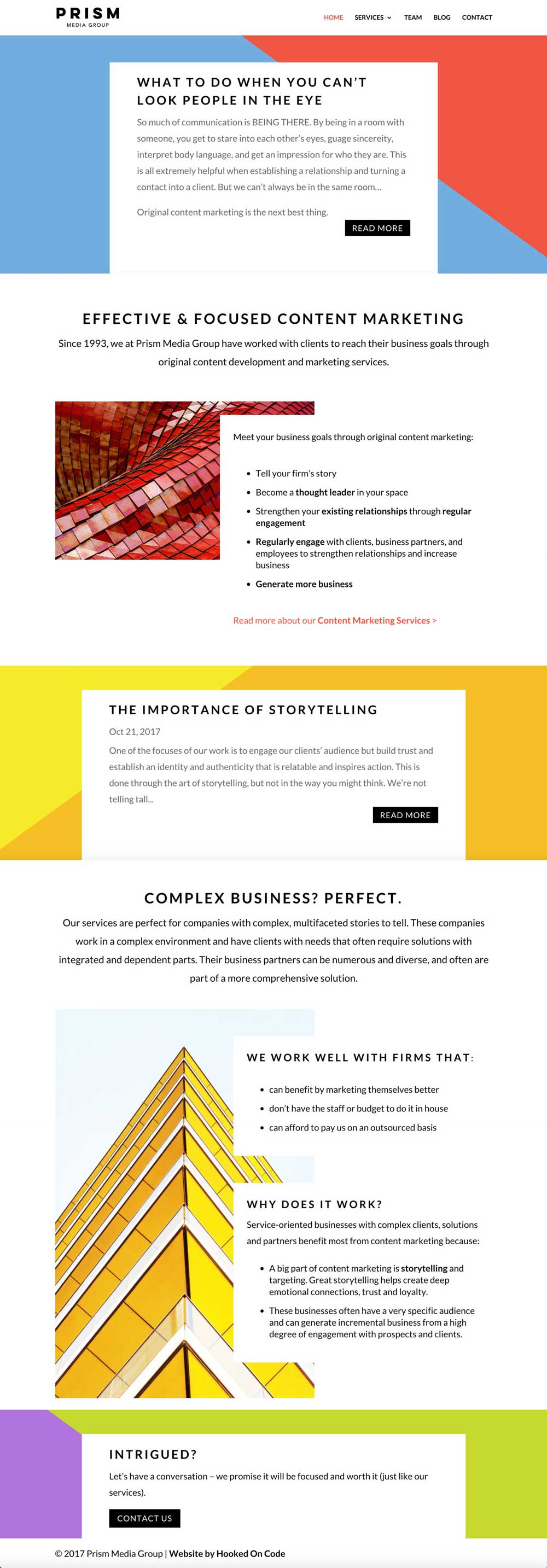 CSL Dallas Home Page After website redesign