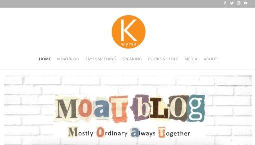 Kay Wyma   Website Redesign