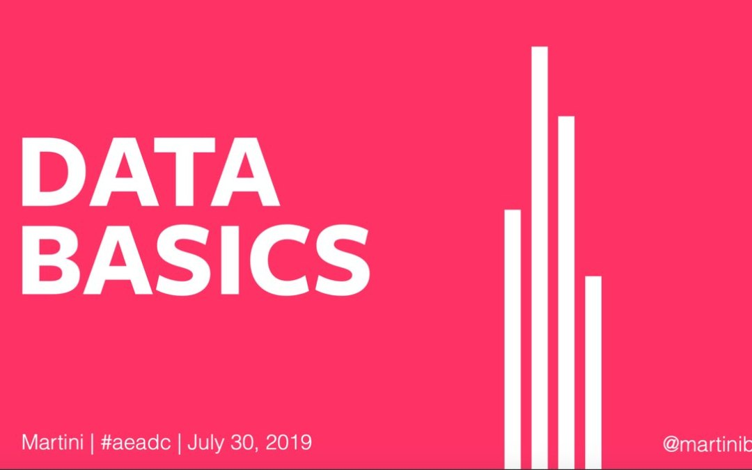 Data Basics by Laura Martini