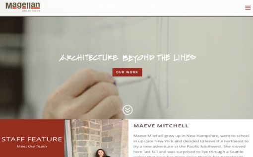 Magellan Architects | Website Redesign