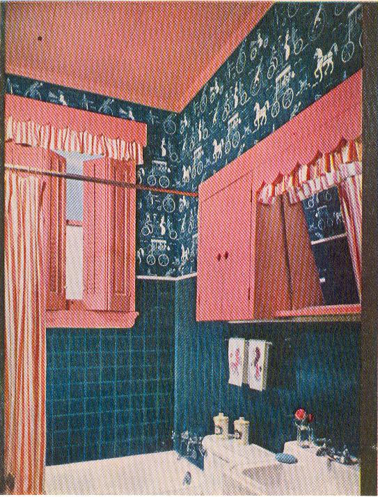1956 A Good Year For Pink Bathrooms Hooked On Houses