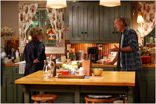 Parenthood TV show-Zeek & Camille's kitchen