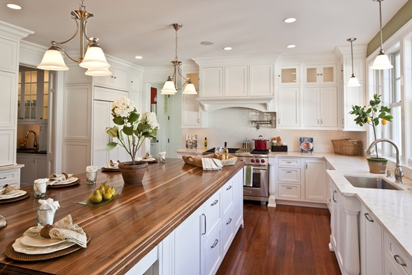 Kitchen Painted Sherwin Williams Sprout Wood Island 2 Hooked On Houses