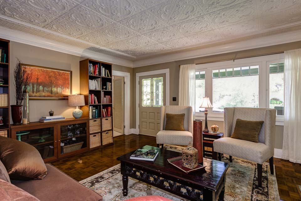Living Room Craftsman In Pasadena Hooked On Houses