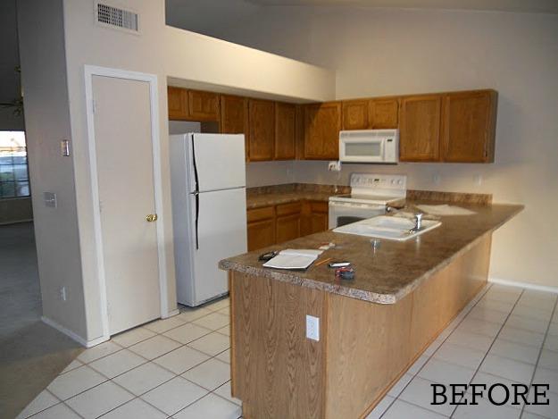 Before After Amanda Empty Nest Kitchen Arizona Hooked