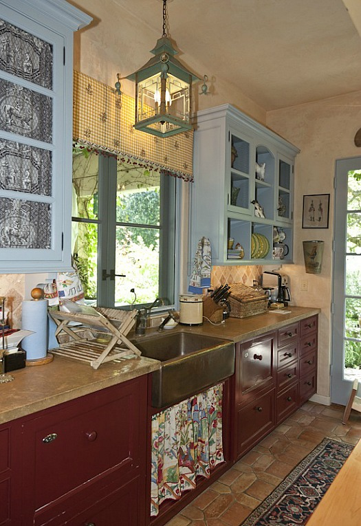 Penelope Bianchi S Romantic Kitchen In California Hooked