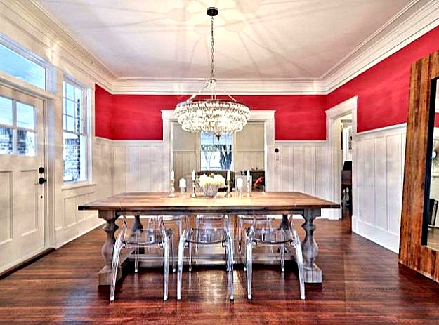 Dining Room With Board And Batten Hooked On Houses