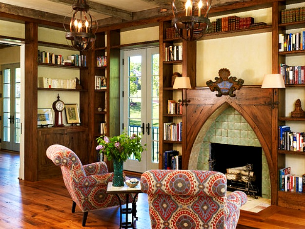 A New House Inspired By Old French Country Cottages