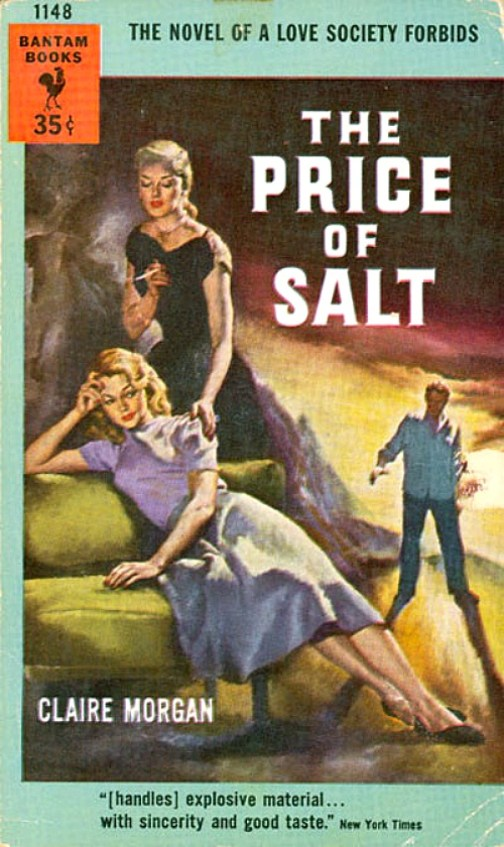The Price of Salt book by Claire Morgan aka Patricia Highsmith