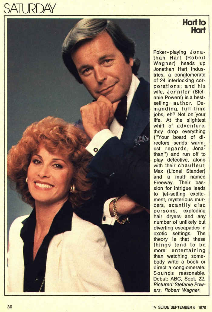Hart to Hart TV Guide article 1979